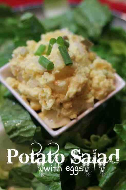 Potato Salad Recipe with Eggs