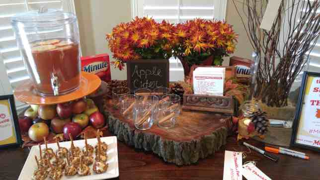 Apple Cider - Thanksgiving Decorations