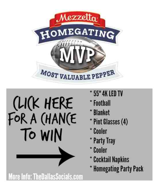 Mezzetta Homegating MVP Contest