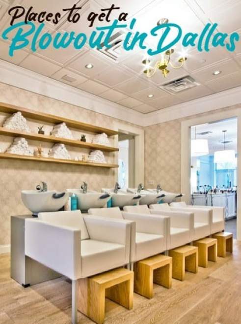 Places to get a blowout in Dallas