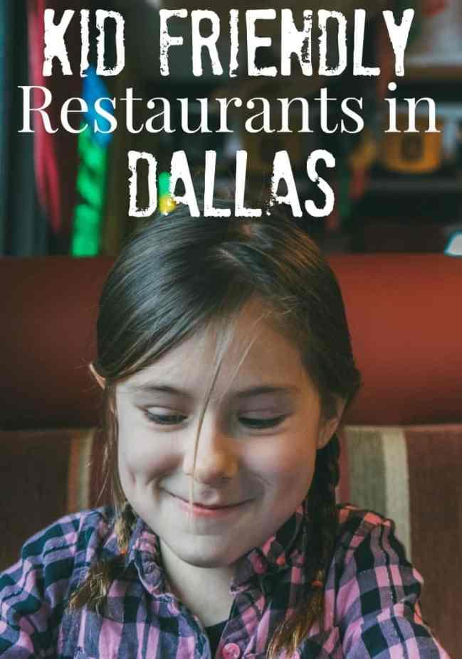 Kid Friendly Restaurants in Dallas