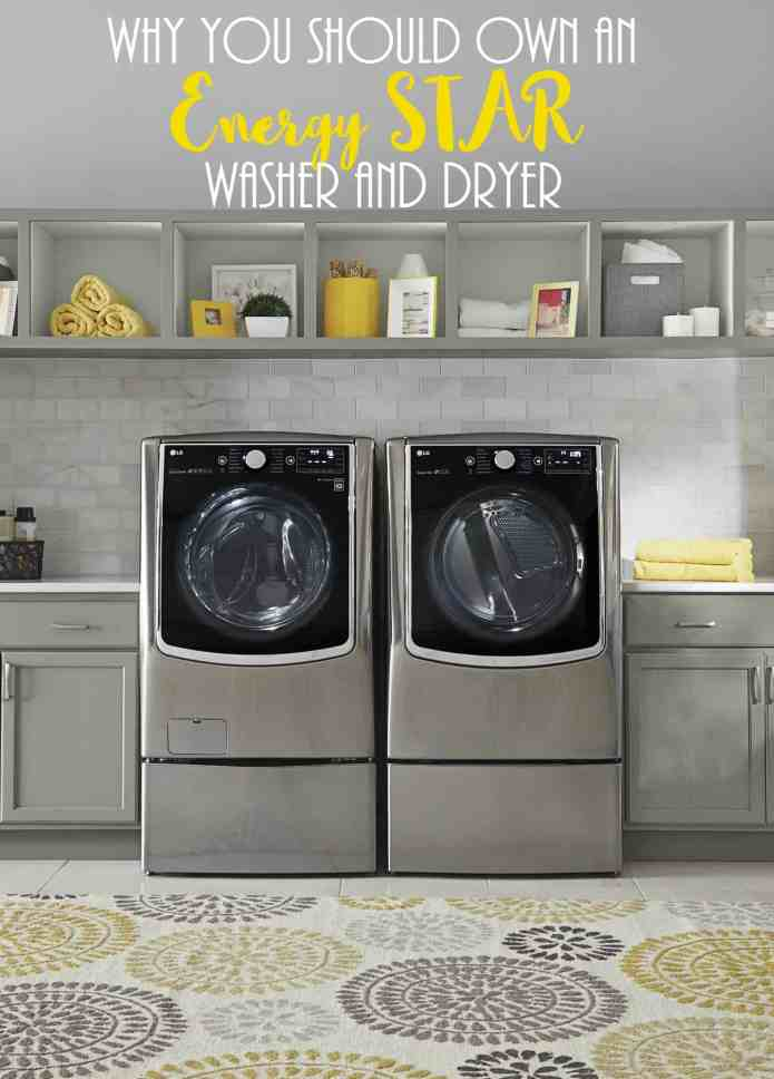 Why You Should Own an Energy STAR Washer and Dryer