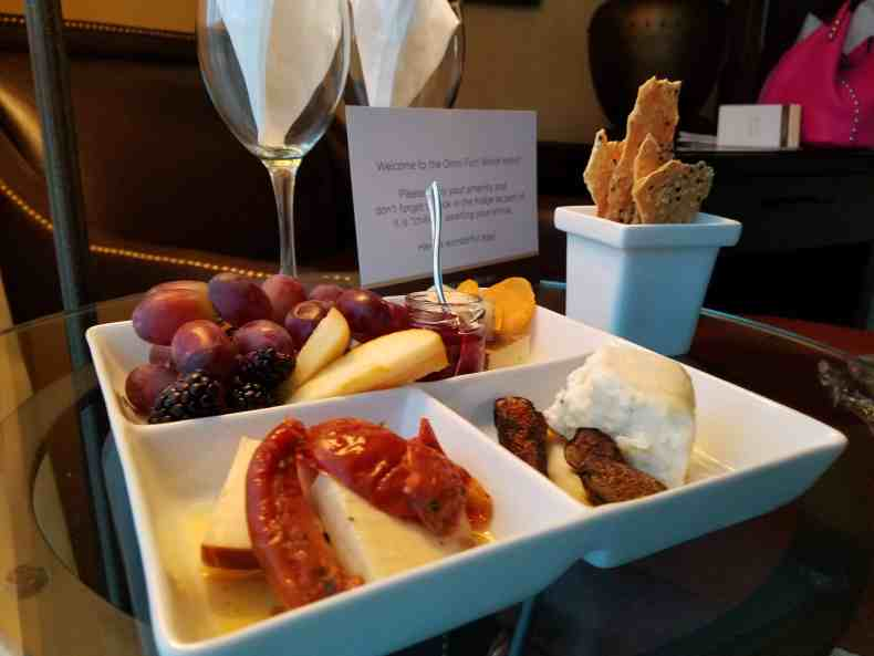 Omni Fort Worth - Cheese Tray