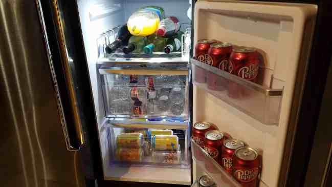 Samsung Hub Refrigerator Flex Doors