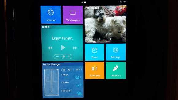 Samsung Hub Screen