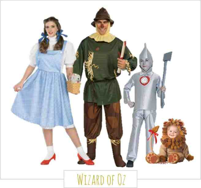 Family Halloween Costumes - Wizard of Oz