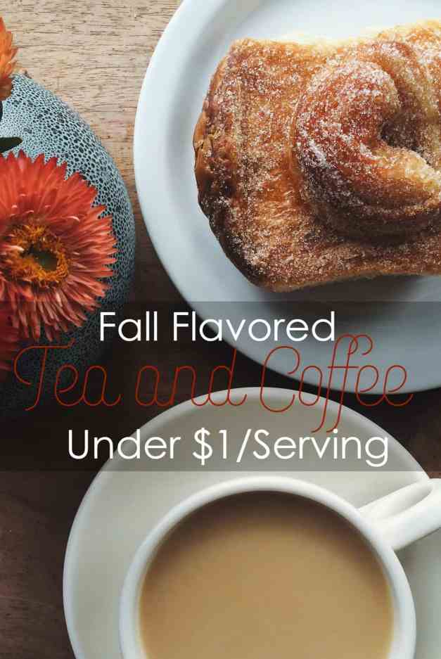 Fall Flavored Tea and Coffee