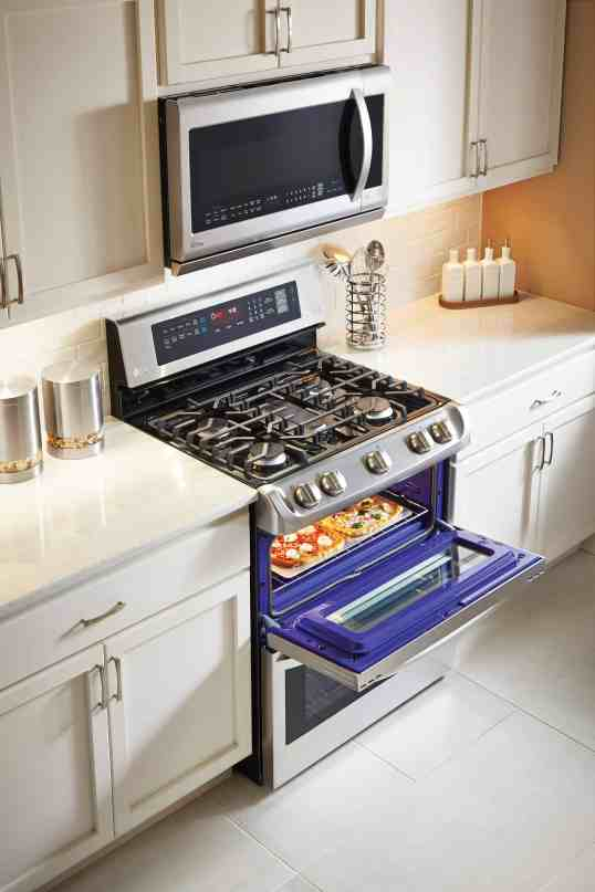 lLG Probake Double Oven