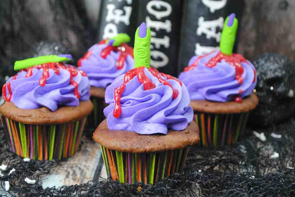 Witches Finger Cupcake