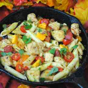 Easy Chicken Pasta Skillet - Perfect for Fall and Winter