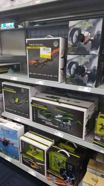 Drones at Best Buy