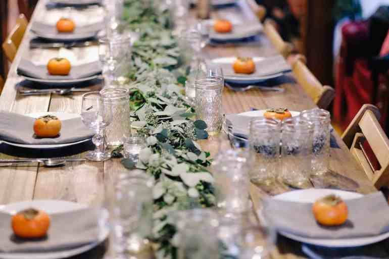 Holiday Table Setting - Dallas Socials