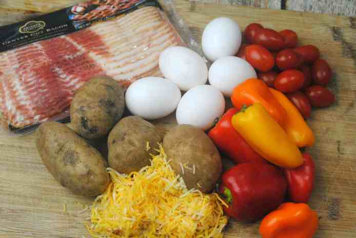 SOuthwest Breakfast Ingredients