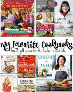 Great Cookbooks for Foodies