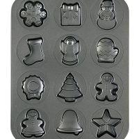 Christmas Cookies Shapes Pan