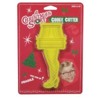 A Christmas Story Yellow Leg Lamp Cookie Cutter