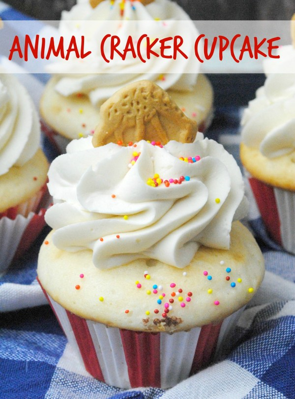 Diy Animal Cracker Cupcakes