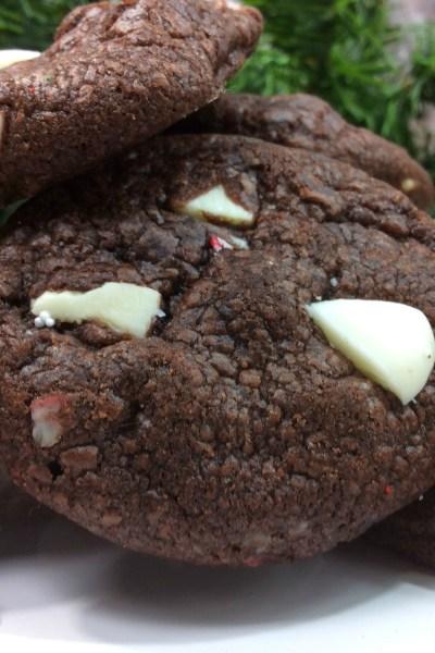 Peppermint Mocha Latte Cookies