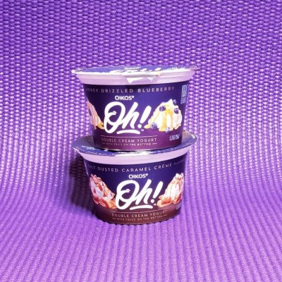 It's All About Balance - Oikos Oh! Double Cream Yogurt