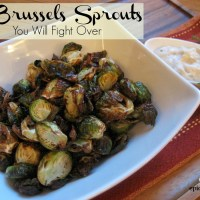 The Brussels Sprouts You Will Fight Over – Airfryer | epicuricloud (Tina Verrelli)