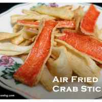 Air Fried Crab Sticks