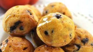 Pumpkin Chocolate Chip Pancake Bites Recipe