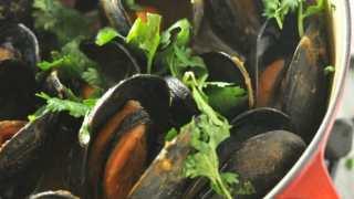 Pumpkin Mussels