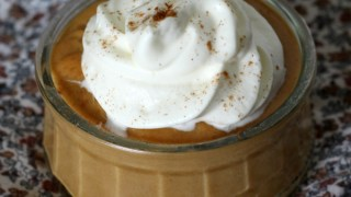 Homemade Pumpkin Pudding - The Perfect Fall Snack!