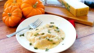 Pumpkin Ravioli Recipe And Butter Sage Sauce