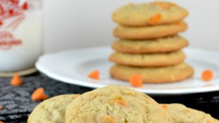 Pumpkin Spice Chip, Almond and Pecan Cookies Recipe