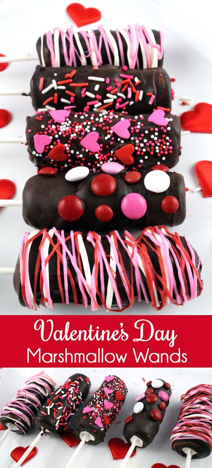 Valentines Day Marshmallow Wands – Pink Party Ideas - To Have a Nice Day