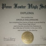 Angel's High School Diploma