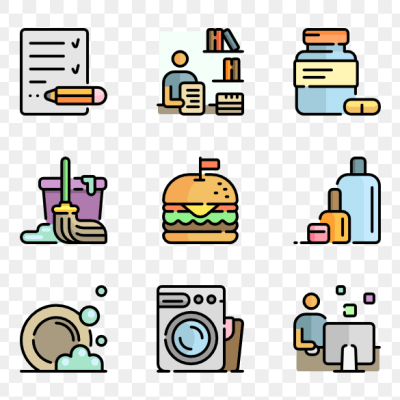 Daily Life Clipart