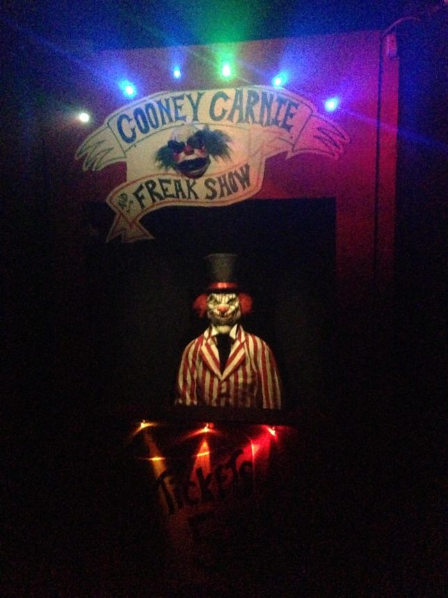Freak Show Exhibit @ The Dark Carnival Haunted House