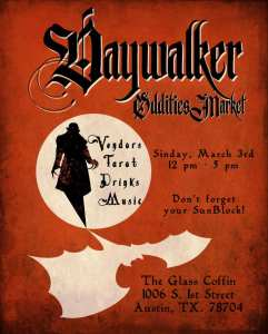 The Glass Coffin: Vampire Parlour‎DayWalker Oddities Market