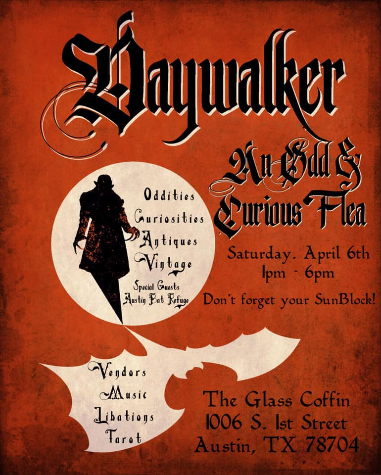 DayWalker: An Odd & Curious Flea - April 6