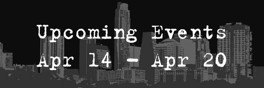 Upcoming Event Apr 14- Apr 20