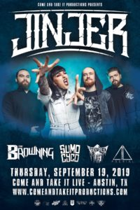 Jinjer, The Browning, Sumo Cyco, Death of a Dream and AAerial
