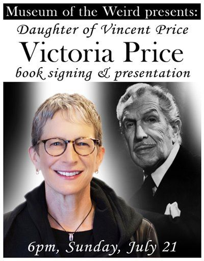 Victoria Price book signing & meet-and-greet