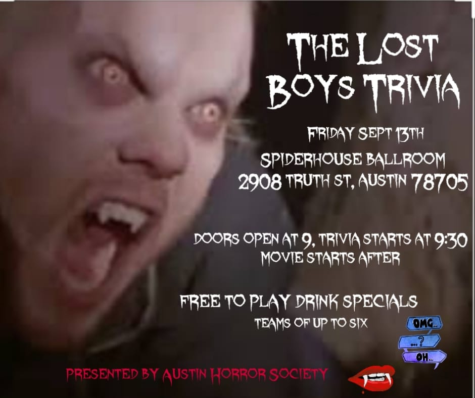 The Lost Boys Trivia And Watch Party