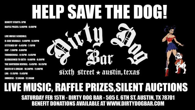 Help Save The Dog - A benefit for Dirty Dog Bar