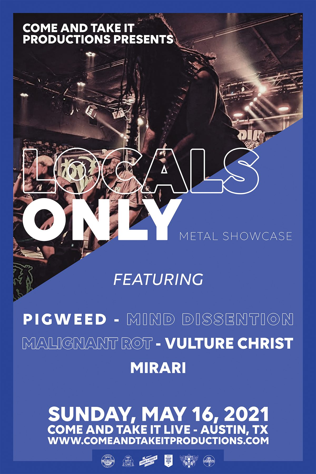 Locals Only Metal Showcase