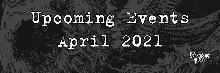 Upcoming Events: April 2021