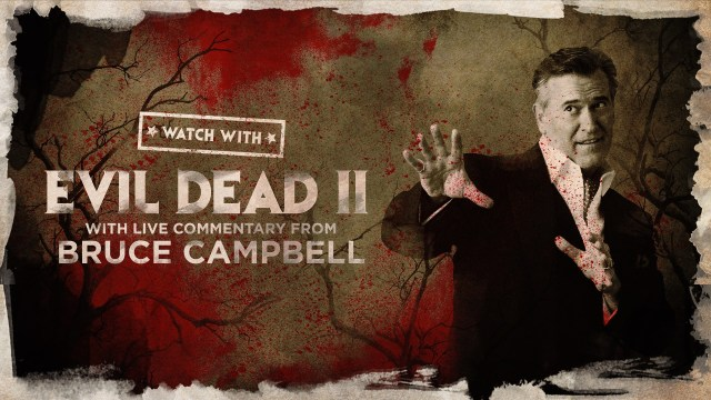 Virtual Evil Dead II with Live Commentary from Bruce Campbell