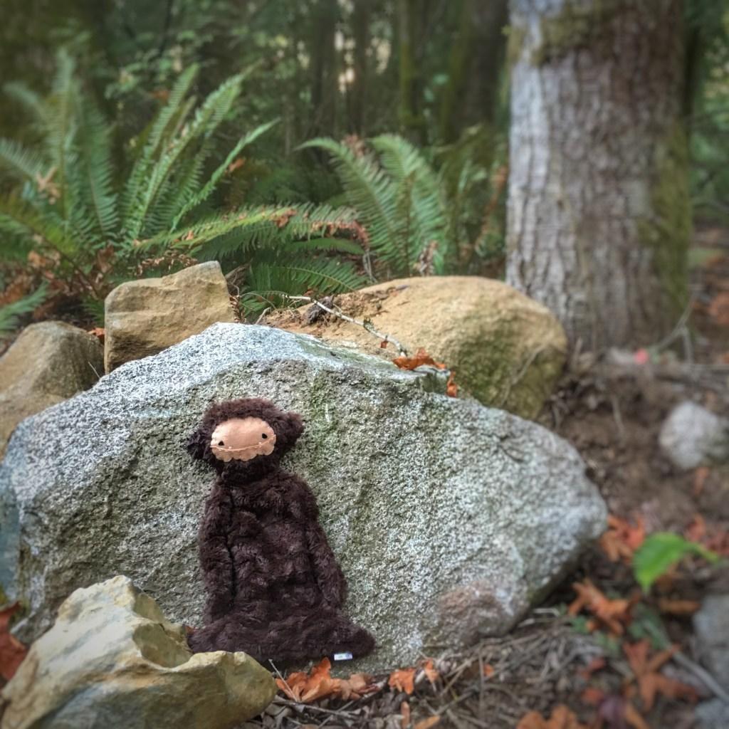 Ella's favorite doll. Benny the Bigfoot.