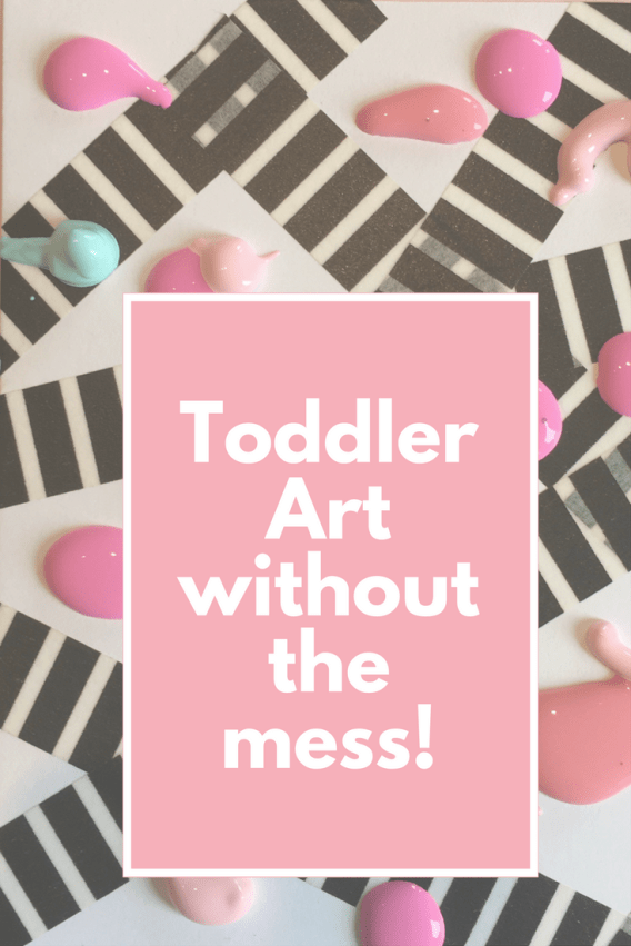 ToddlerArt without the mess!