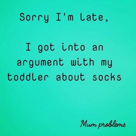 Toddler Arguments