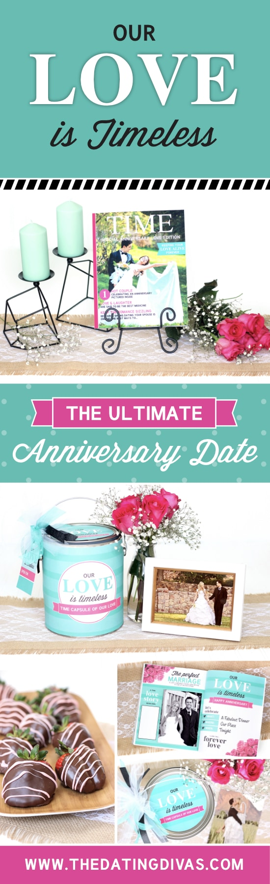 Our Love Is Timeless Anniversary Date