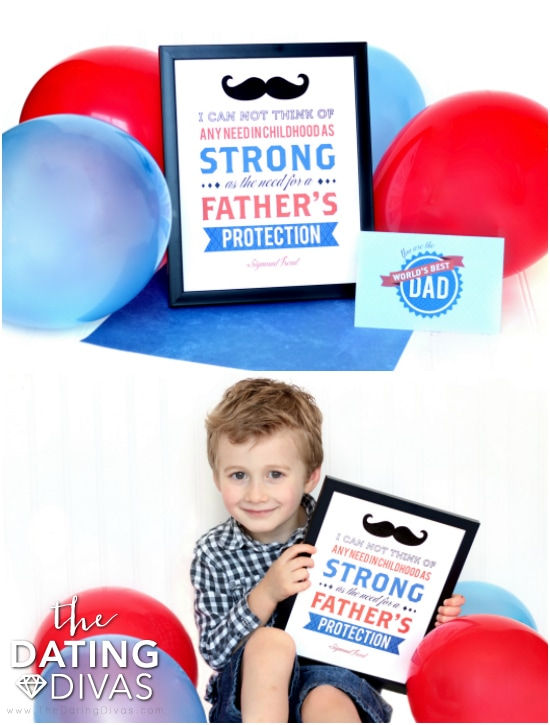 Father's Day Printable Framed Art