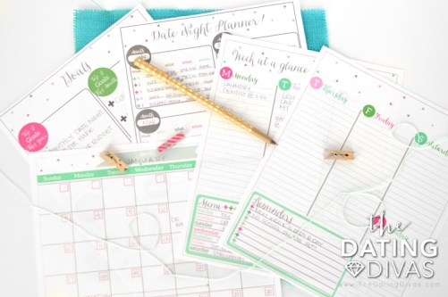 Free budget printables from the dating divas